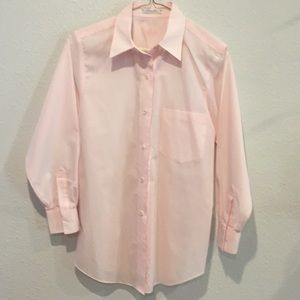FoxCroft Collard Button Up Blouse, Size 4